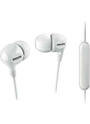 Philips She3555Wt/00 Beyaz Kulakıcı Mıkrofonlu Kulaklık Beyaz